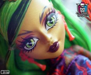 Jinafire Long, Monster High puzzle