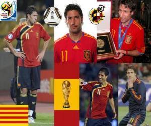 Joan Capdevila (Die nicht brennbar) spanische Team Verteidigung puzzle