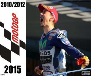 Jorge Lorenzo, MotoGP-2015 puzzle
