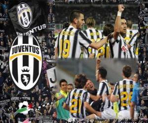 Joventus, italienische Liga Meister - Lega Calcio 2011-12 puzzle