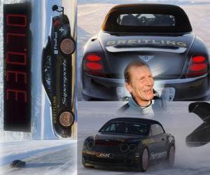 Juha Kankkunen, Eis Geschwindigkeitsrekord puzzle