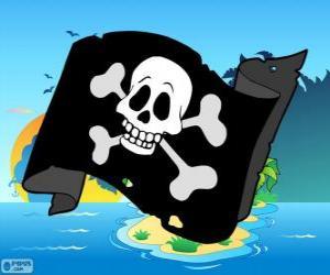 Junior-Piraten Fahne puzzle