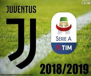Juve, Meister 2018-2019 puzzle