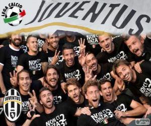 Juventus Meister 2013-20014 puzzle