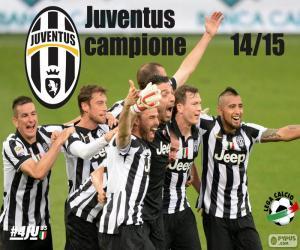 Juventus Meister 2014-20015 puzzle