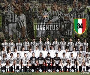 Juventus Meister 2015-20016 puzzle