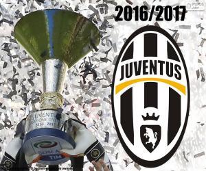 Juventus Turin, Meister 2016-2017 puzzle