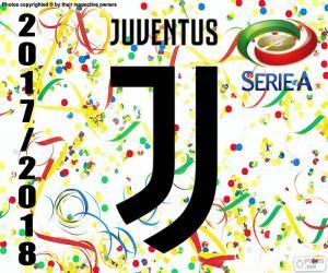 Juventus Turin, Meister 2017-2018 puzzle
