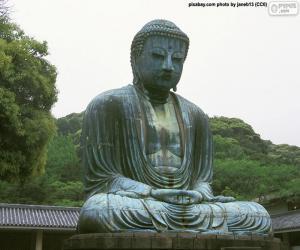 Kōtoku-in Japan puzzle