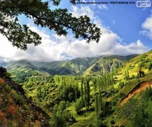 Kaakar-Gebirge, Türkei puzzle