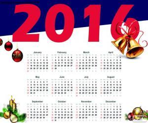 Kalender 2016 puzzle