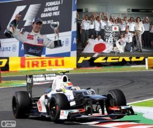 Kamui Kobayashi - Sauber - Grand Prix von Japan 2012, 3. klassifiziert puzzle