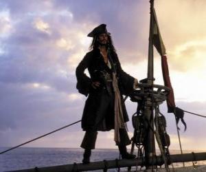 Kapitän auf der Suche Position puzzle