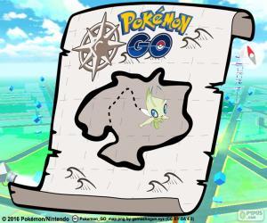Karte von Pokémon GO puzzle