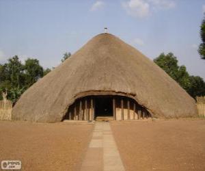 Kasubi Tombs, Kampala, Uganda puzzle