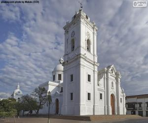 Kathedrale Basilica von Santa Marta, Kolumbien puzzle