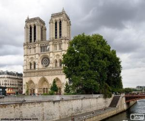 Kathedrale Notre-Dame, Paris puzzle