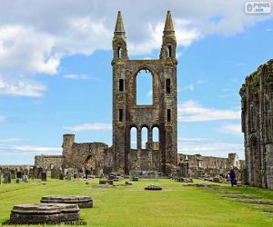 Kathedrale St. Andrews, Schottland puzzle