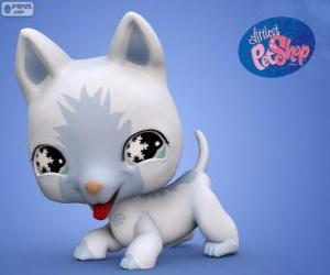 Katze aus Littlest PetShop puzzle