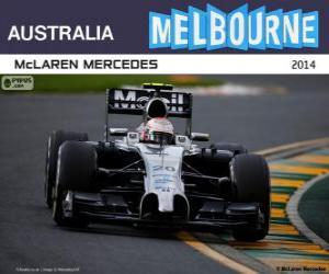 Kevin Magnussen - McLaren - Grand-Prix-Australien-2014, 2 º klassifiziert puzzle