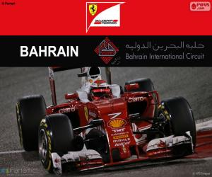 Kimi Räikkönen Großer Preis von Bahrain puzzle