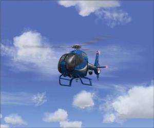 Kleine Hubschrauber puzzle