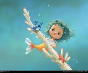 kleine Meerjungfrau puzzle
