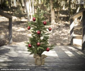Kleiner Weihnachtsbaum puzzle