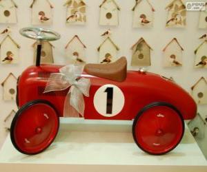 Kleinwagen Rutscher Spielzeug für Weihnachten puzzle