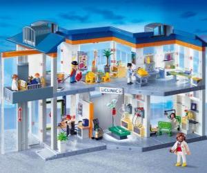 Klinische Playmobil puzzle