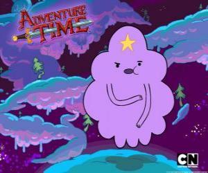 Klumpig Space Princess, eine Wolke mit einem Stern auf der Stirn puzzle