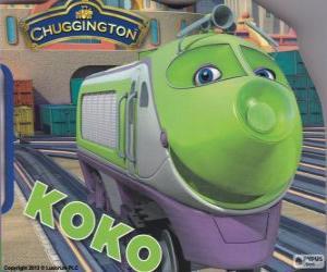 Koko, elektrische Lokomotive von Chuggington puzzle