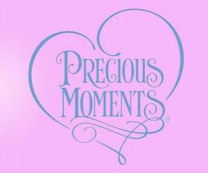 Kostbaren Momente logo - Precious Moments puzzle