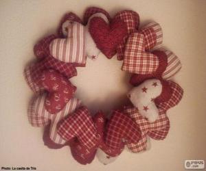 Kranz Weihnachtskranz puzzle