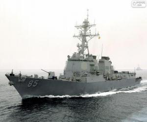 Kriegsschiff, Zerstörer puzzle