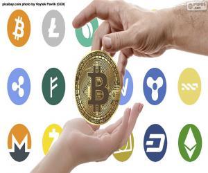 Kryptowährungen puzzle