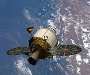 Künstlichen Satelliten, Orion puzzle