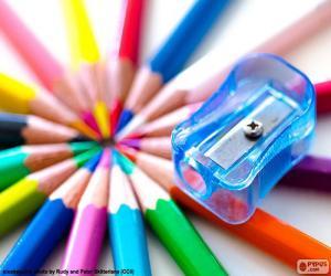Kunststoff Bleistiftspitzer puzzle
