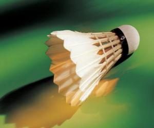 Kunststofffederball, Badminton spielen puzzle