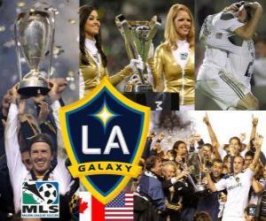 LA Galaxy, 2011 MLS meisterschaf puzzle