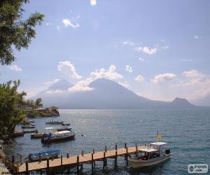 Lago de Atitlán, Guatemala puzzle