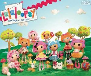 Lalaloopsy, die Stoffpuppen puzzle