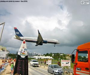 Landung in Saint Martin puzzle