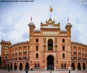 Las Ventas in Madrid puzzle