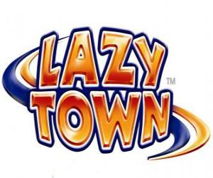 Lazy Town logo puzzle