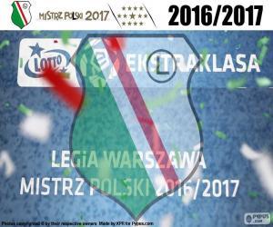 Legia, Meister 2016-2017 puzzle
