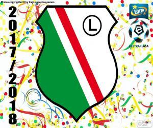 Legia Warschau, Ekstraklasa 17-18 puzzle