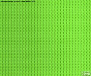 LEGO grün-Grundplatte puzzle