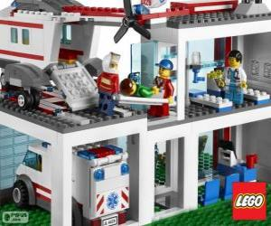Lego Krankenhaus puzzle