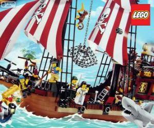 Lego Piratenschiff puzzle